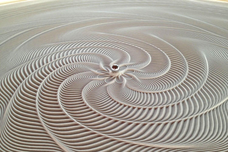 Sisyphus Kinetic Art Coffee Table